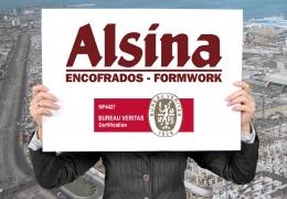 El grupo Alsina actualiza el certificado ISO 9001:2008 añadiendo su gama de servicios de ingeniería